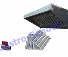 Okap Gatsronomiczny SG 100x70x40 + filtry